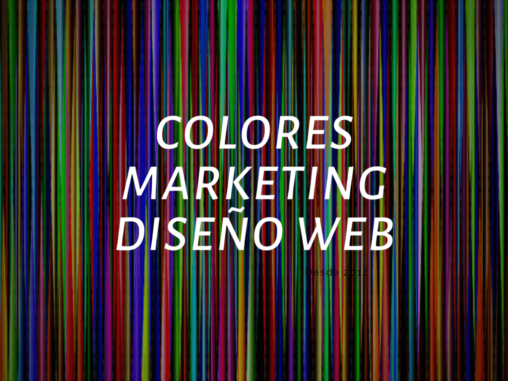 significado de los colores en marketing